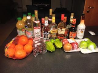 Makings for Trash Juice